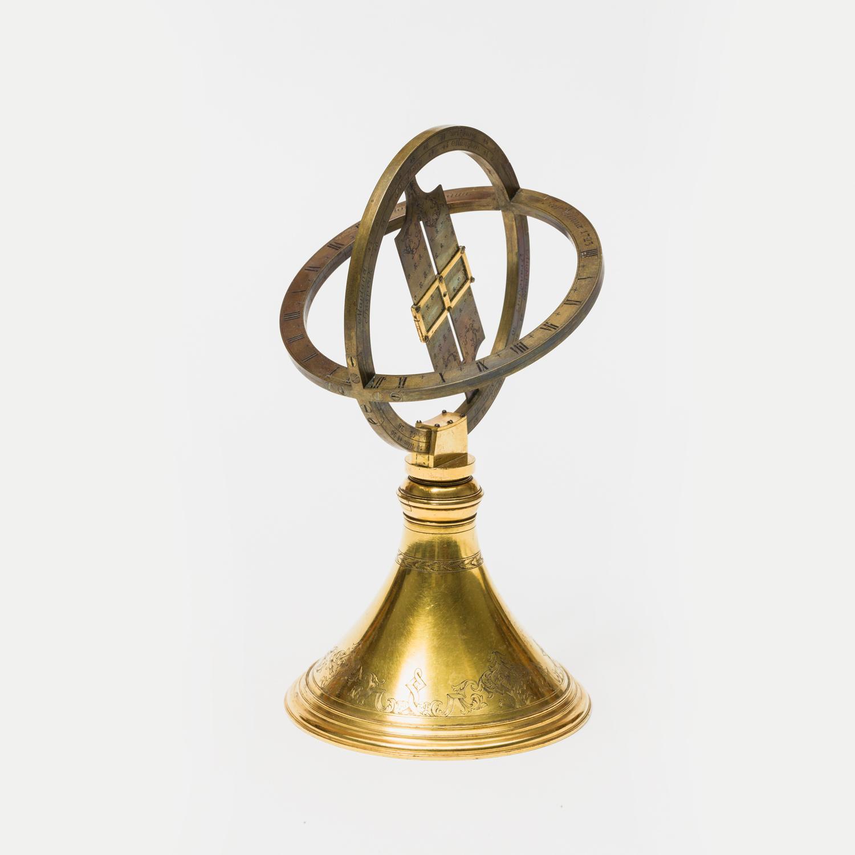 Ringsonnenuhr aus dem Besitz von Bertha von Suttner