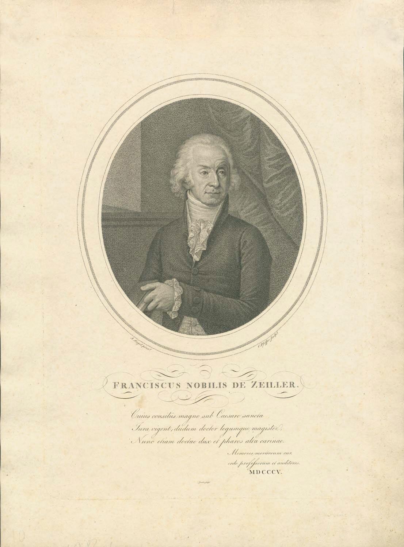Franz Alois Edler von Zeiler, Rechtsgelehrter (1751-1828)