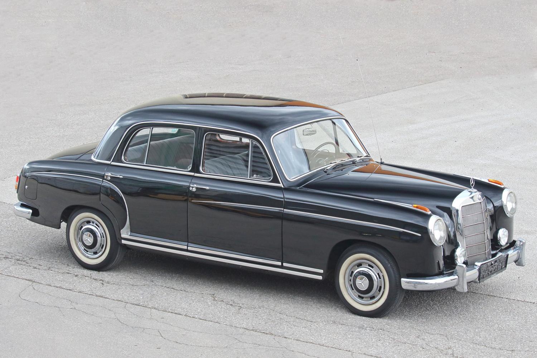 Mercedes-Benz 220 S-180010, Dienstwagen von Dr. Leopold Figl als Außenminister der Republik Österreich