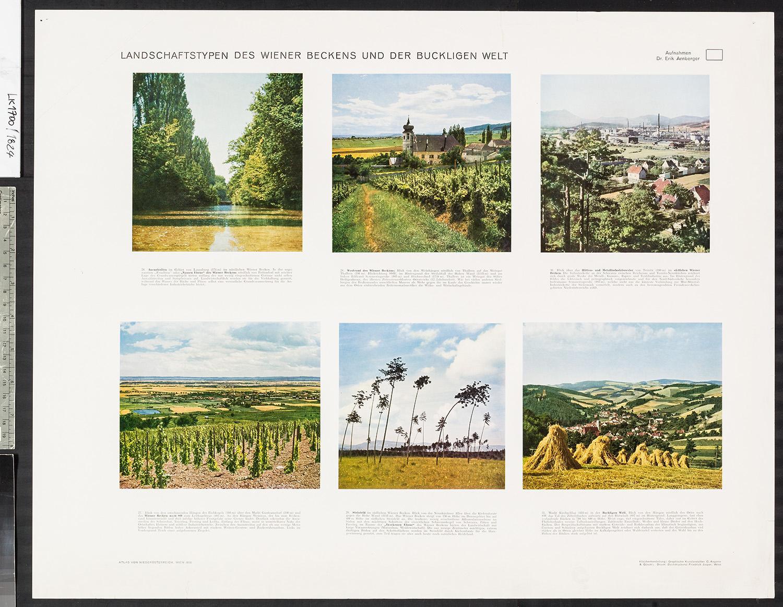 Landschaftstypen des Wiener Beckens und der Buckligen Welt