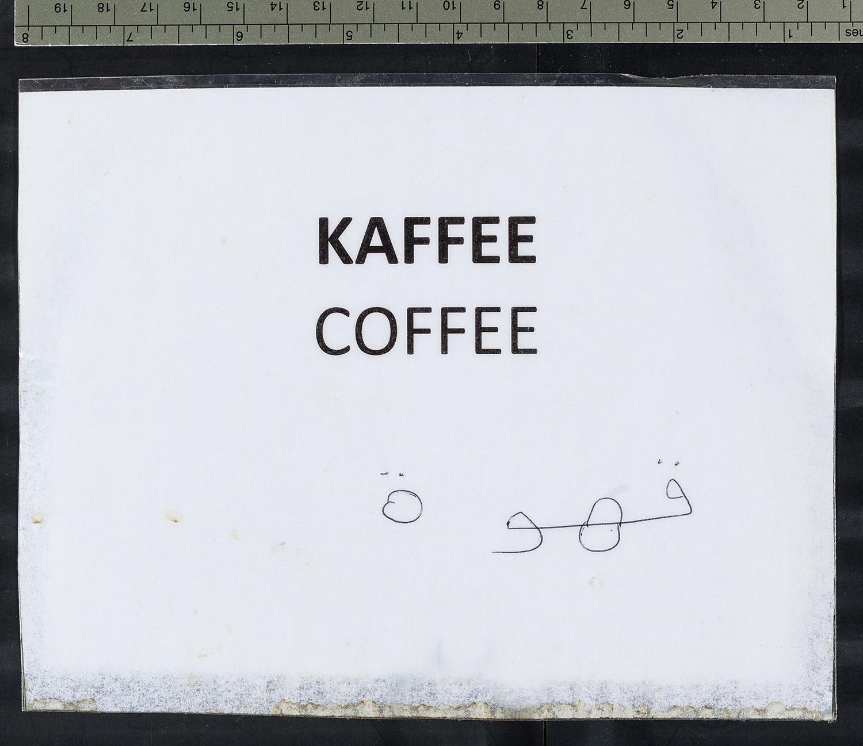 """""""Kaffee Coffee"""""""