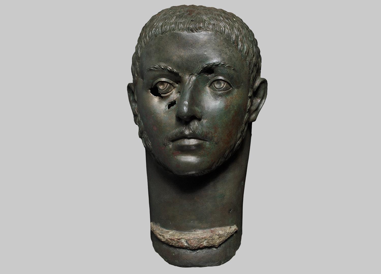 Kopf des Kaisers Severus Alexander - Kopie