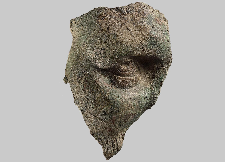 Fragment eines Porträtkopfes