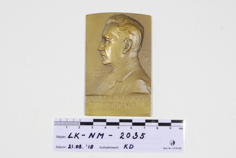 80. Geburtstag Karl Adolf Ludwig Freiherr Bachofen von Echt