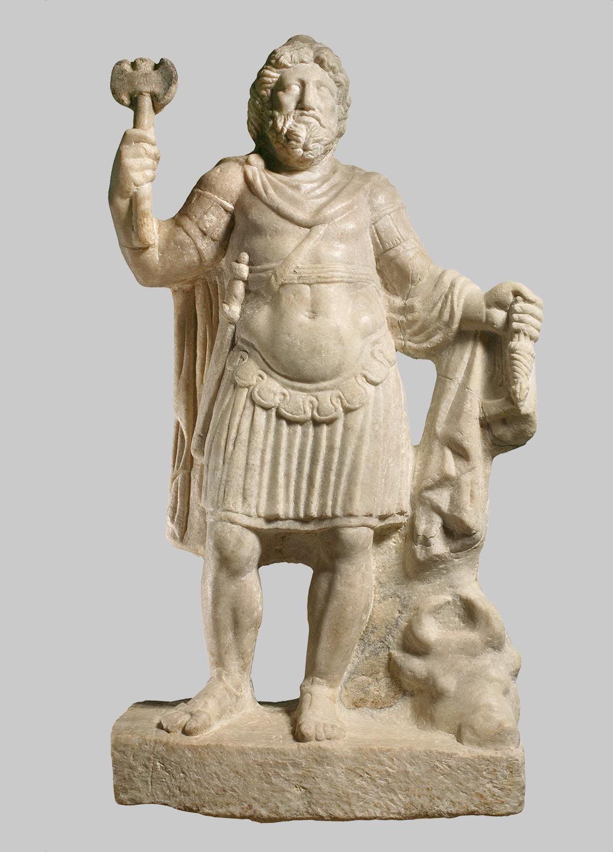Statue des Jupiter Dolichenus