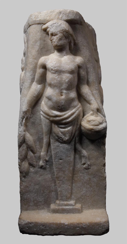 Pilaster mit Herme des Pan