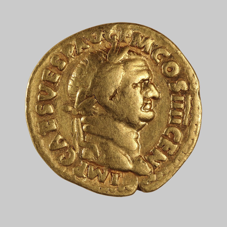 Aureus des Vespasianus