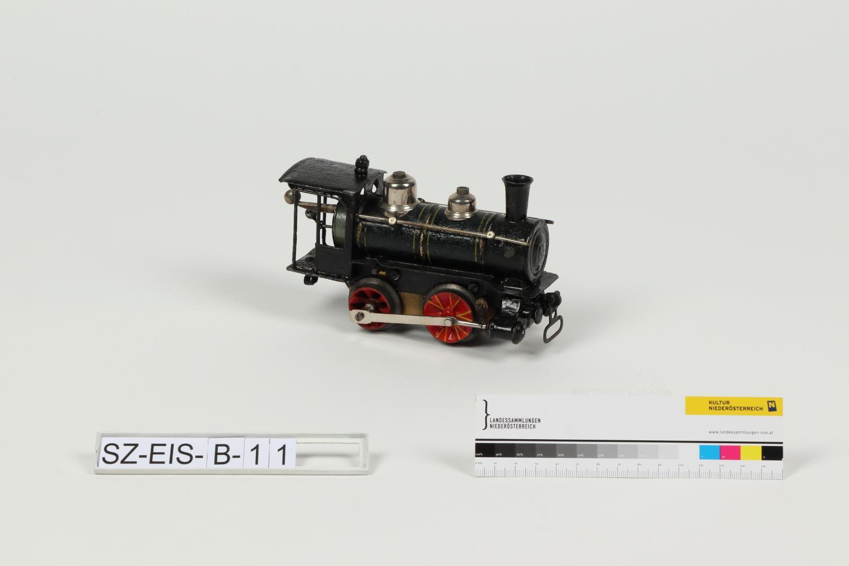 Dampflokomotive mit Tender