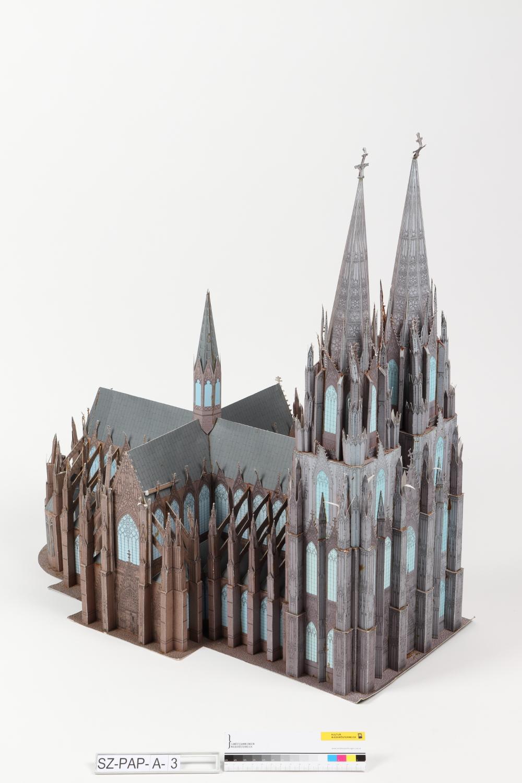 Modellbaubogen Kölner Dom