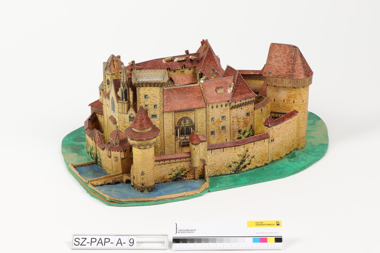 Modellbaubogen Burg