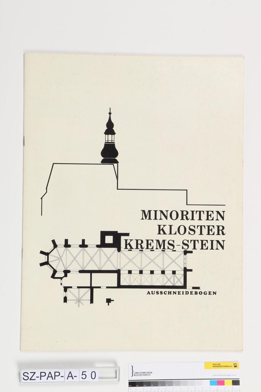 Modellbaubogen Minoritenkirche Krems/Donau