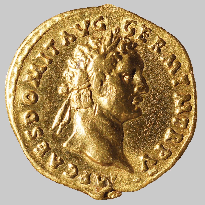Aureus des Domitianus