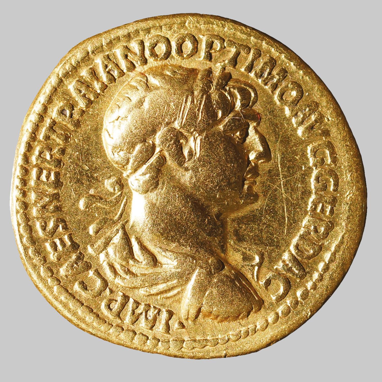 Aureus des Traianus