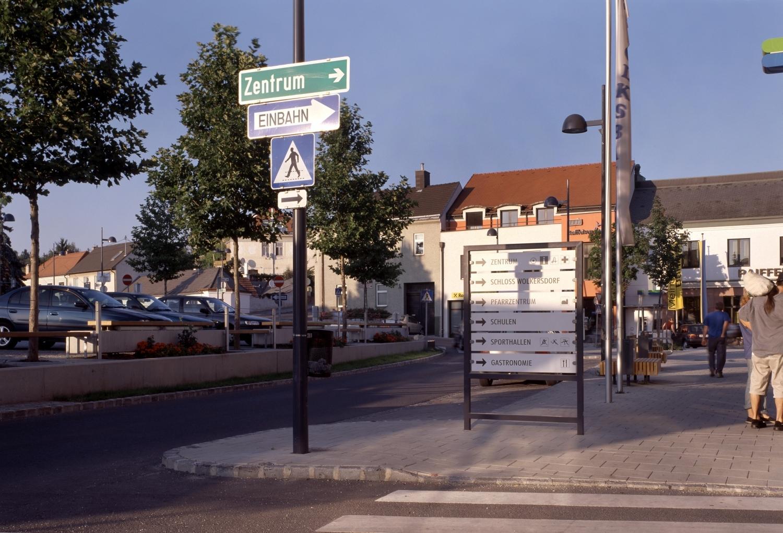 Stadtmöblierung / Wolkersdorf