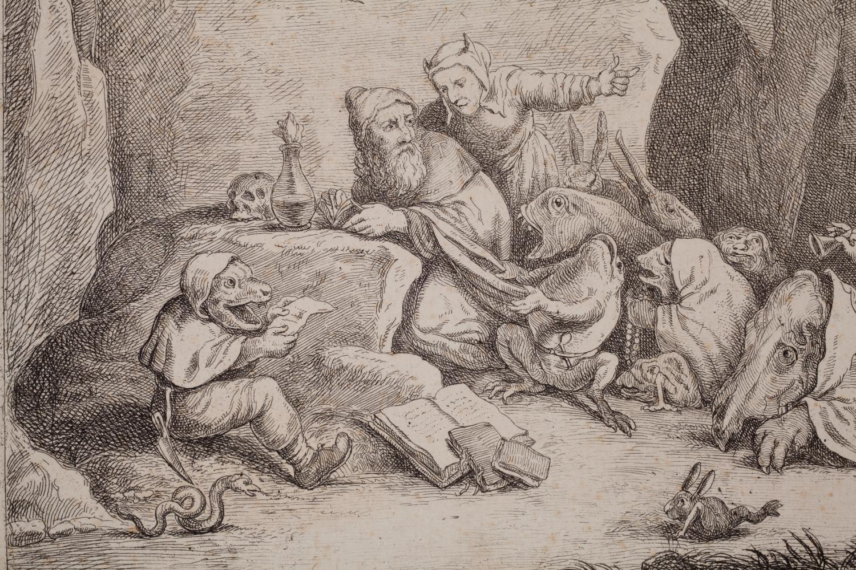 Darstellung einer Zauberszene