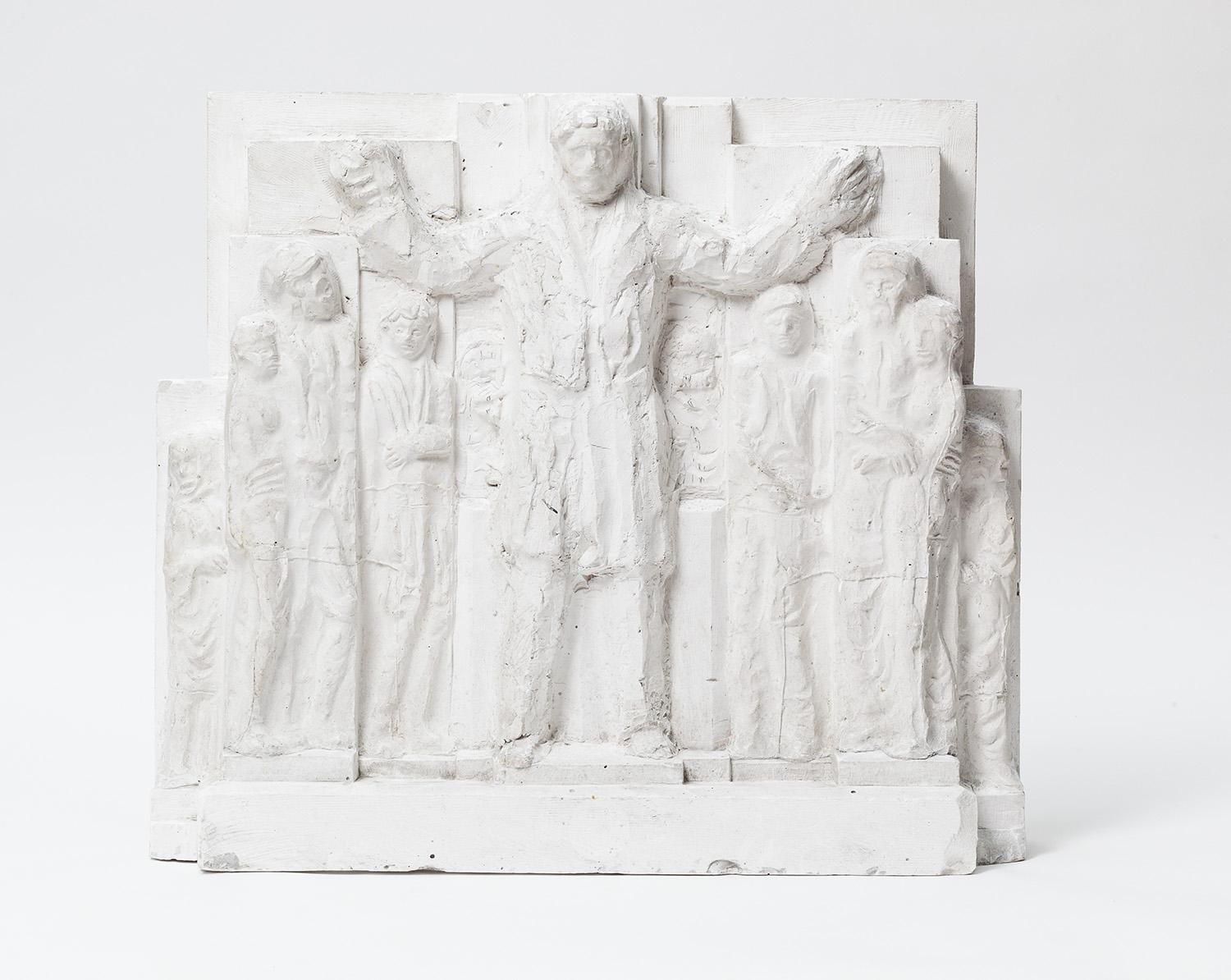 Reliefentwurf zum Emnyet-Denkmal für Ankara (Rückseite)