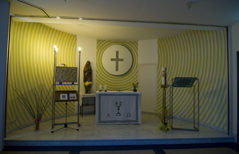 Altarraum / Pflege- und Betreuungszentrum Mödling